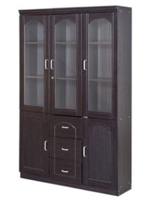 AMBER--BOOKSHELF-three-door