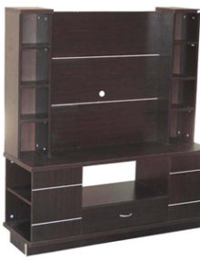 wall unit, wallunit, teaknoak
