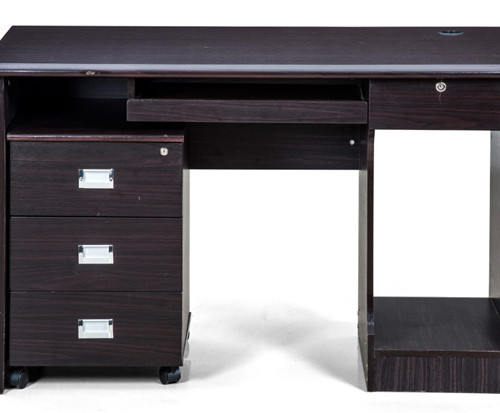 Petal-Office-Table-with-Dark-Finish-1