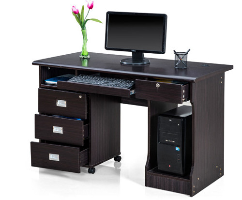 Petal-Office-Table-with-Dark-Finish
