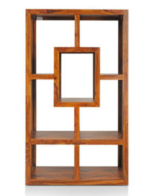 Honey-Brown-Finish--Display-Unit