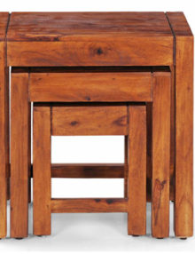 Natural-Finish-nested-stool